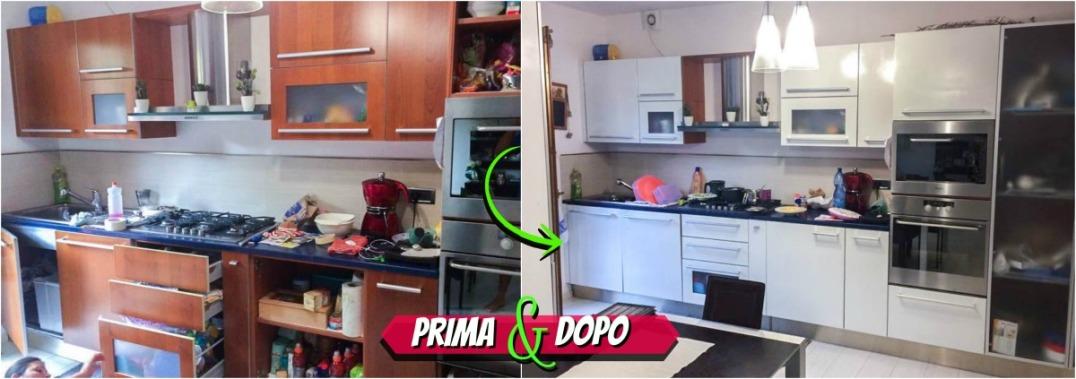 Uno dei nostri clienti più soddisfatti, ha scelto la resina SOTTOSOPRA per dare nuova vita alla sua cucina con un tocco fresco e moderno!